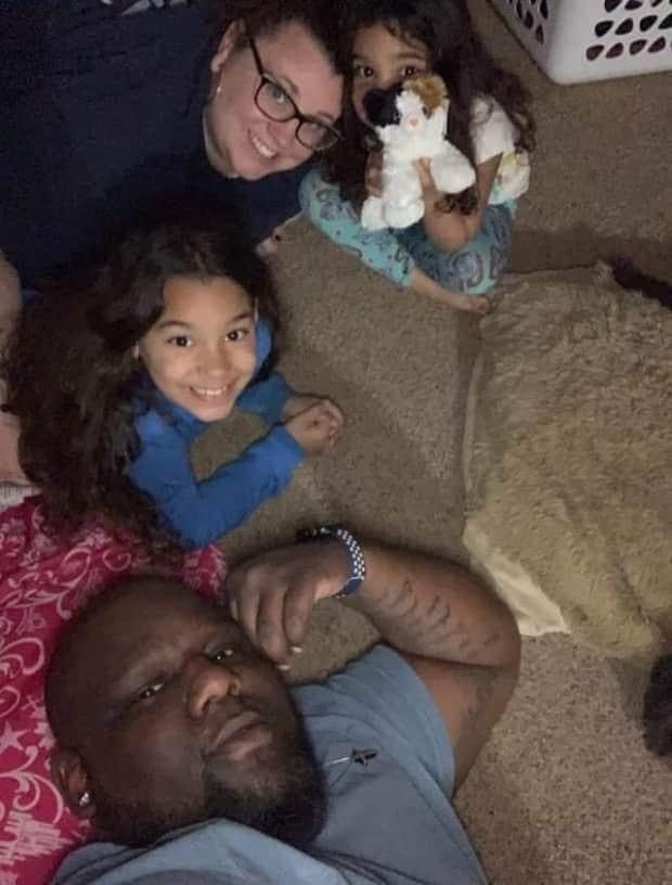 Roshelle Montgomery said her husband Warren was an incredible father for their two children. She said the girls thought he was the strongest man and knew everything.