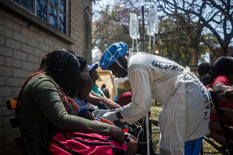 Cholera outbreak in Zimbabwe's capital escalates; 21 dead | Columbus Ledger-Enquirer