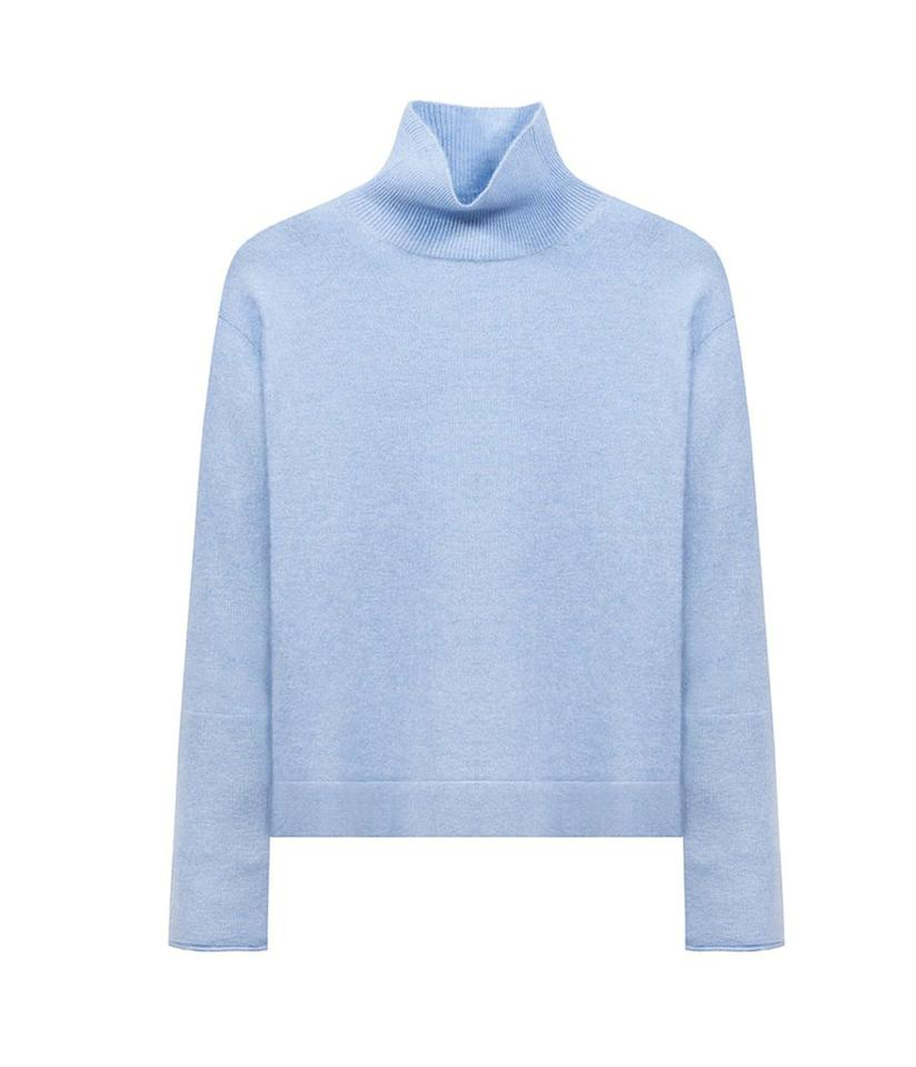 """<p>Anima Cashmere Mockneck, $200, <a rel=""""nofollow"""" href=""""http://www.naadamcashmere.com/collections/women-best-sellers/products/anima-cashmere-mock-neck-talc?variant=28793434887"""">naadamcashmere.com</a><br /></p>"""