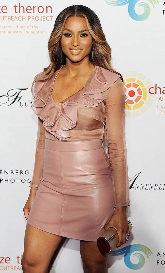 Actress and singer Ciara turns 25