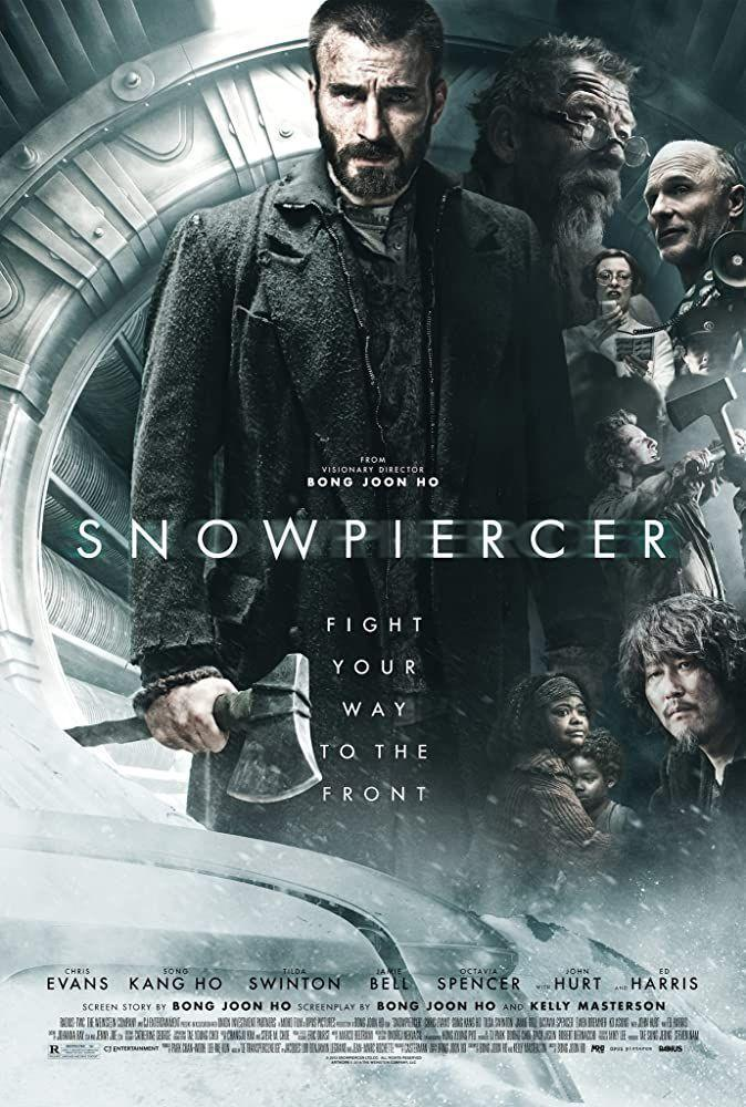 """<p>Bong Joon-ho's first English-language release, <em>Snowpiercer </em>features a star-studded cast with Chris Evans, Song Kang-ho, Tilda Swinton, Jamie Bell, and Octavia Spencer. Set in the future, the science fiction action flick is about a climate engineering catastrophe that creates an ice age, forcing the lucky few who remained alive to live on a train that travels the globe. On board, class tensions flare as those living in squalid conditions start a revolution to spread the wealth. If you like dystopian films, add this to the queue.</p><p><a class=""""link rapid-noclick-resp"""" href=""""https://www.netflix.com/title/70270364"""" rel=""""nofollow noopener"""" target=""""_blank"""" data-ylk=""""slk:Watch Now"""">Watch Now</a></p>"""