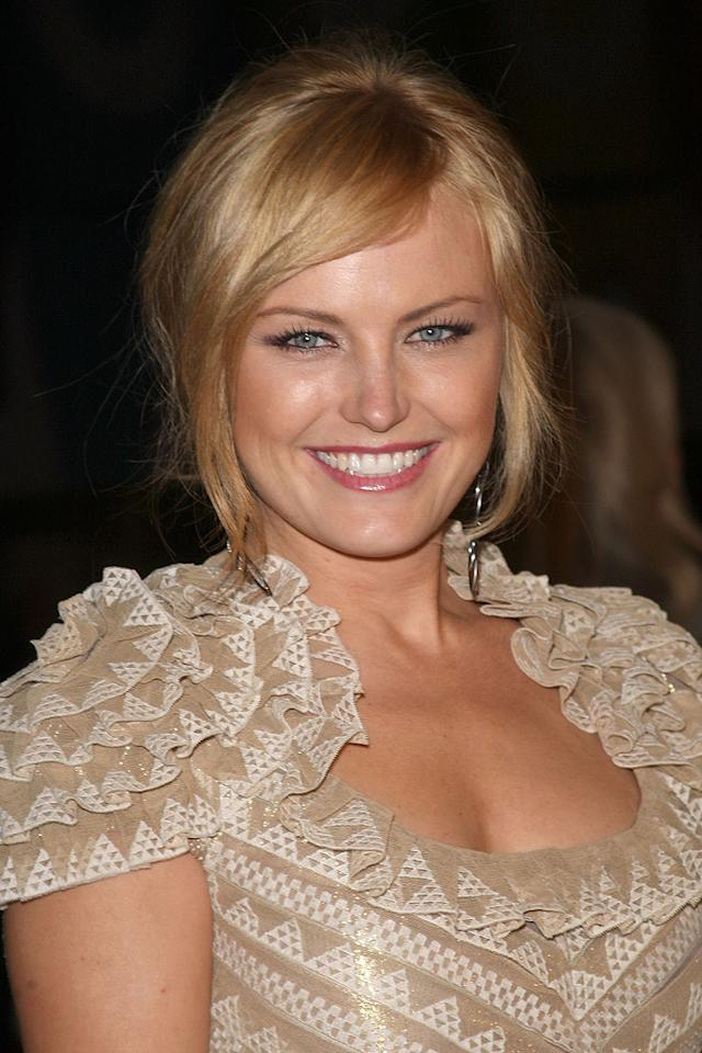"""<a href=""""http://movies.yahoo.com/movie/contributor/1808422842"""">Malin Akerman</a> at the Los Angeles premiere of <a href=""""http://movies.yahoo.com/movie/1808406490/info"""">Watchmen</a> - 03/02/2009"""