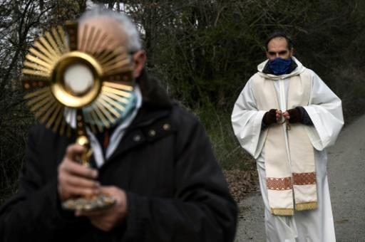 A total of 67 priests have died of the new coronavirus