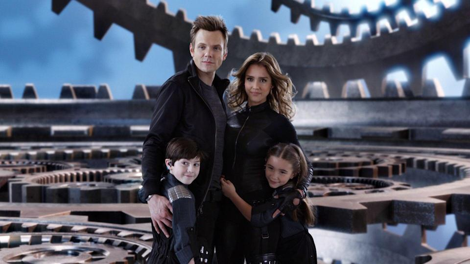 """<p><strong>Hulu's Description:</strong> """"Marissa Cortez Wilson (<a class=""""link rapid-noclick-resp"""" href=""""https://www.popsugar.com/Jessica-Alba"""" rel=""""nofollow noopener"""" target=""""_blank"""" data-ylk=""""slk:Jessica Alba"""">Jessica Alba</a>) is a retired spy who keeps that identity hidden from her clueless husband and whip-smart twin stepchildren, Rebecca (Rowan Blanchard) and Cecil (Mason Cook). However, when a villain called Timekeeper (Jeremy Piven) threatens to conquer the world, Marissa springs back into action as head of the OSS, home of the now-defunct Spy Kids Division. With help from some cool gadgets and two former spy kids, Rebecca and Cecil join the fight to save Earth.""""</p> <p><span>Stream <strong>Spy Kids: All the Time in the World</strong> on Hulu!</span></p>"""