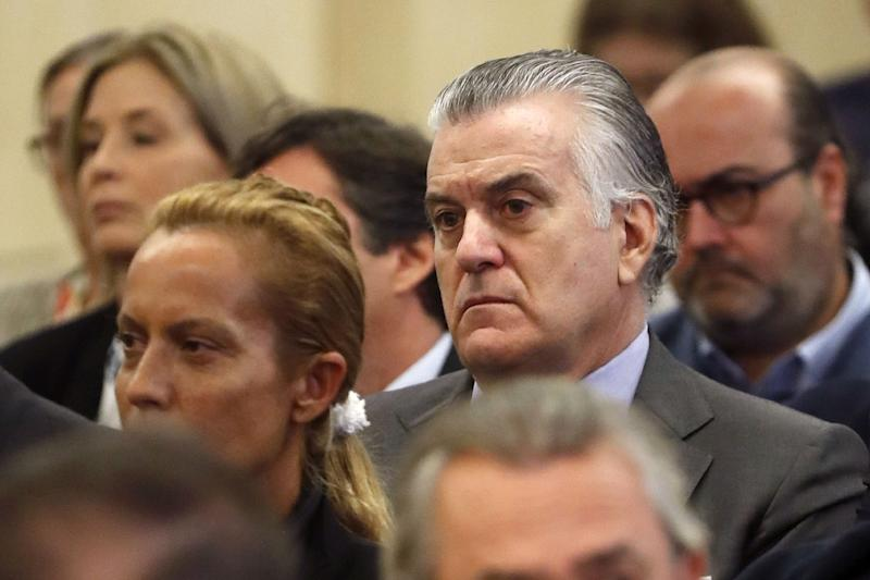 Former treasurer of Spain's Popular Party(PP)Luis Barcenas has been jailed pending an appeal of his 33-year prison sentence for graft