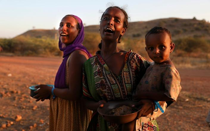 Massive numbers of civilians have been displaced - AP