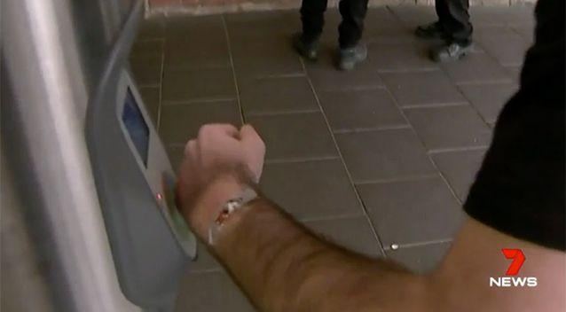 Transport NSW says no one should be tampering with their cards. Source: 7 News