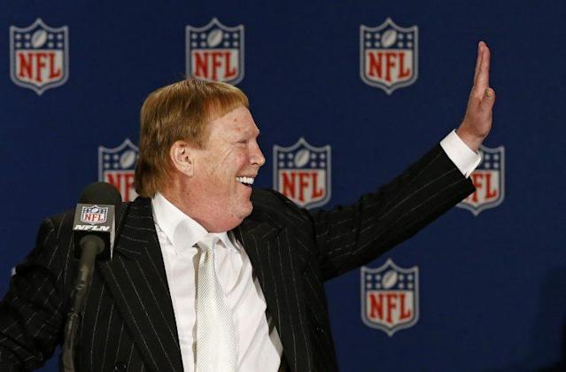 Team owner Mark Davis said Oakland will always be a part of the Raiders' DNA. (AP)