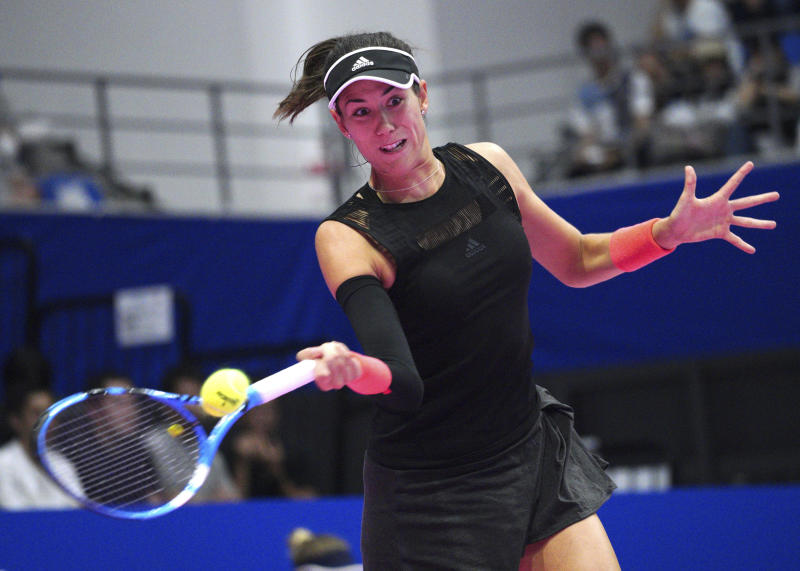 Wang dominates Muguruza to reach Zhuhai final