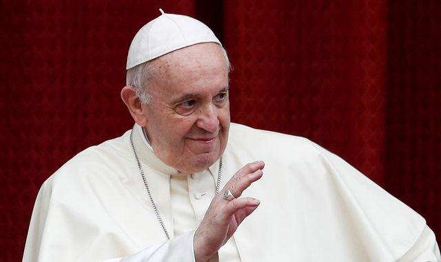 Coronavirus: Pope Francis says gossiping is a 'worse plague' than COVID-19