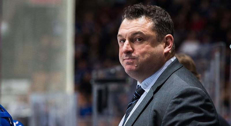 CP NewsAlert: Ottawa Senators hire DJ Smith as head coach