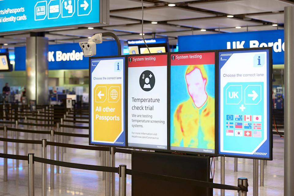 Front line: Arrivals at Heathrow Airport Terminal 2 (LHR AIRPORTS LIMITED)