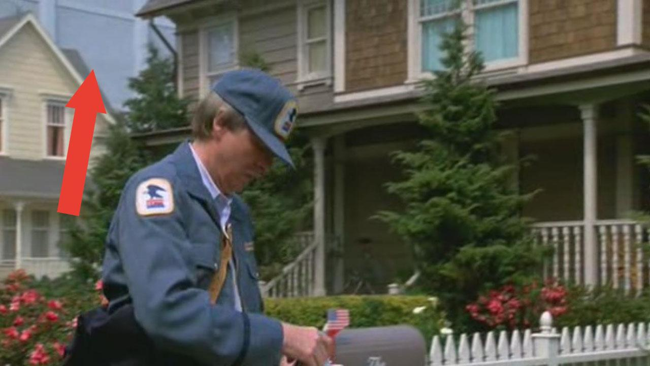 <p>The filmmakers behind 'Honey, I Shrunk The Kids' managed the impossible and botched the sky. In one early scene you can see that behind their house, the sky is simply the Buena Vista backlot painted pale blue. </p>