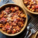 <p>American goulash, also known as old-fashioned goulash, is the perfect economical family meal. The pasta cooks right in the sauce, so this satisfying dish can cook in just one pot.</p>