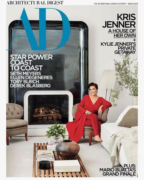 """<p>This is brand new information! You might think you already know the inside of the momager's home from Keeping Up With The Kardashians but according to this feature in Architectural Digest, you were wrong. White marble walls and minimal clutter, it looks like Kris has been taking interior lessons from Kim.</p><p><a href=""""https://www.instagram.com/p/BtgVwbrF3er/"""" rel=""""nofollow noopener"""" target=""""_blank"""" data-ylk=""""slk:See the original post on Instagram"""" class=""""link rapid-noclick-resp"""">See the original post on Instagram</a></p>"""