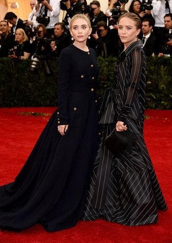 """<h1 class=""""title"""">Ashley Olsen in vintage Gianfranco Ferré and Mary-Kate Olsen in vintage Chanel, 2014</h1><cite class=""""credit"""">Photo: Getty Images</cite>"""