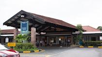 <p>The entrance driveway of the current Seletar Airport passenger terminal. (PHOTO: Yahoo News Singapore / Dhany Osman) </p>
