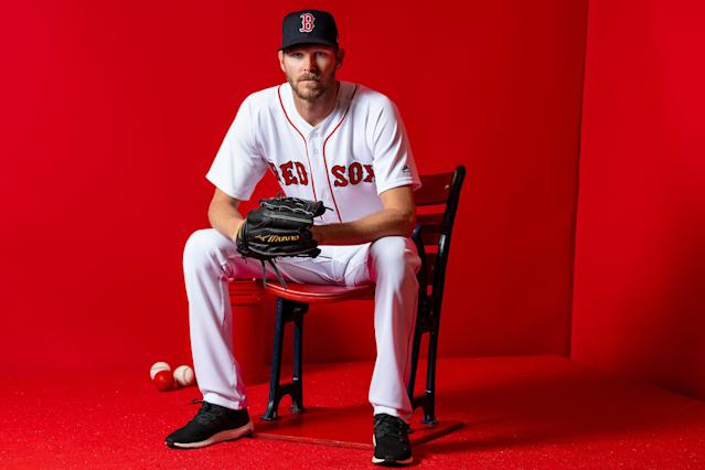 Chris Sale and the Red Sox may be together for another five years. (Photo by Billie Weiss/Boston Red Sox/Getty Images)