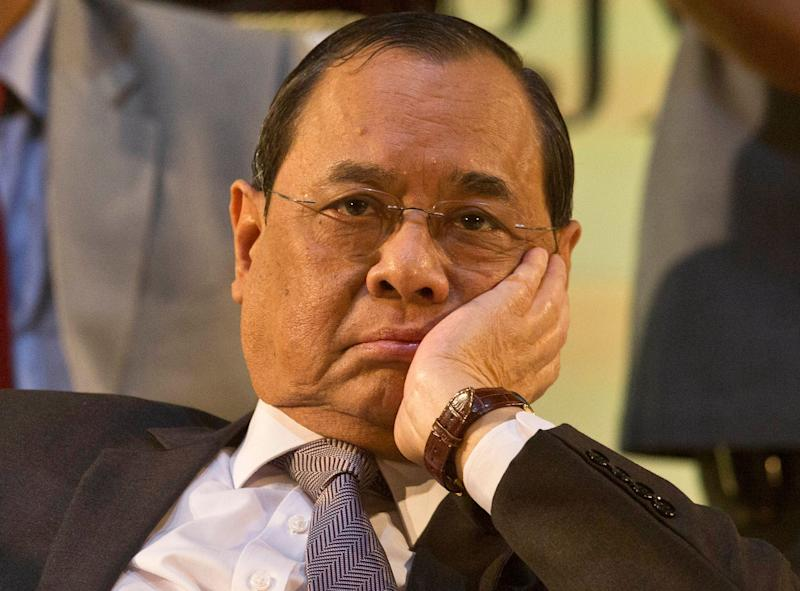 Former Chief Justice of India Ranjan Gogoi in a file photo.  (Photo: ASSOCIATED PRESS)