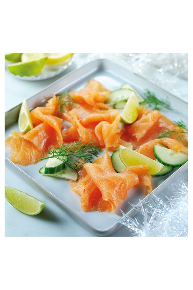 """<p><strong>Overall score: 84/100</strong></p><p>The glossy, peach-coloured slices of this smoked salmon have an appetising marbling throughout. There's a mild smoky aroma, while the flavour is a good balance of salt and natural sweetness. The mouthfeel is light, smooth and a little oily, but not unpleasant. Overall, a big thumbs up from our panel of testers.</p><p><a class=""""body-btn-link"""" href=""""https://groceries.asda.com/product/smoked-salmon/asda-extra-special-mild-delicate-smoked-salmon/910002458369"""" target=""""_blank""""><strong>BUY NOW</strong></a> <strong>ASDA, £4 for 120g</strong></p>"""