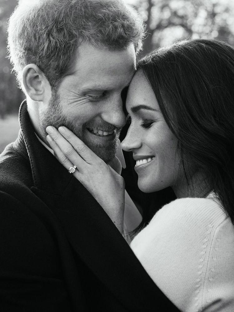 Prince Harry and Meghan Markle's engagement photos