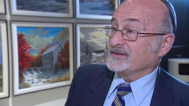 Prominent Ottawa religious leader Rabbi Reuven Bulka, seen here in 2020, died on Sunday morning. Bulka had been diagnosed with pancreatic and liver cancer, which he announced to his congregation in early January.  (CBC - image credit)