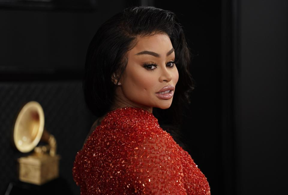 Blac Chyna's outburst about COVID-19 vaccinations captured on video.