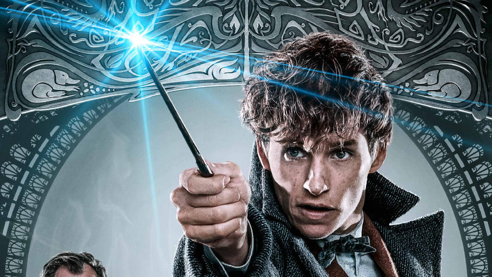 Eddie Redmayne as 'Fantastic Beasts' hero Newt Scamander. (Credit: Warner Bros)