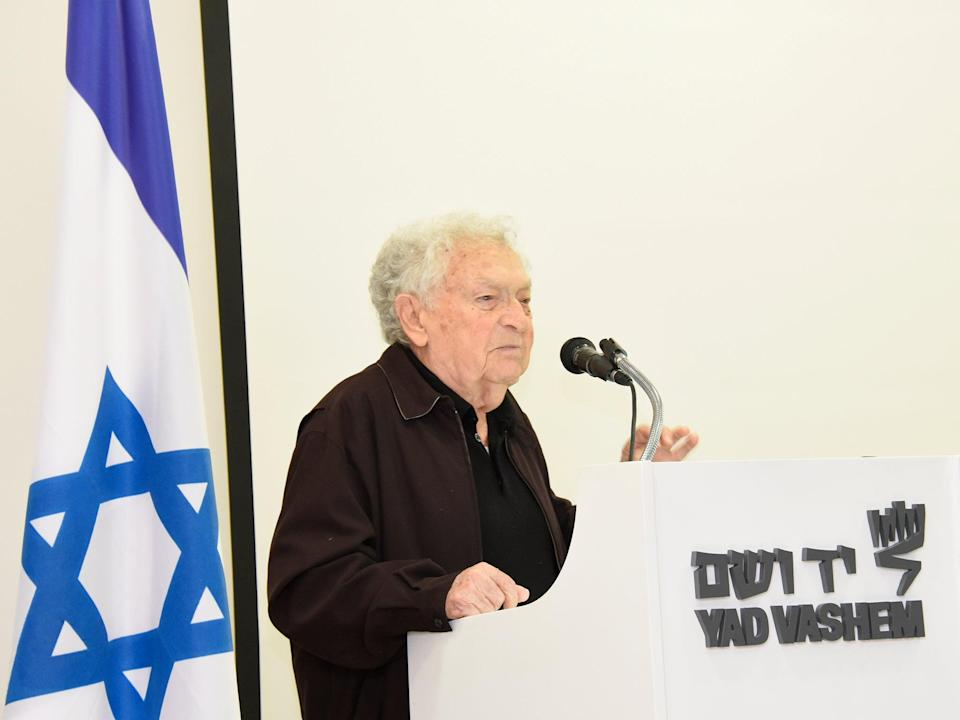 The historian has gone on to write many books about the Final Solution (Yad Vashem)
