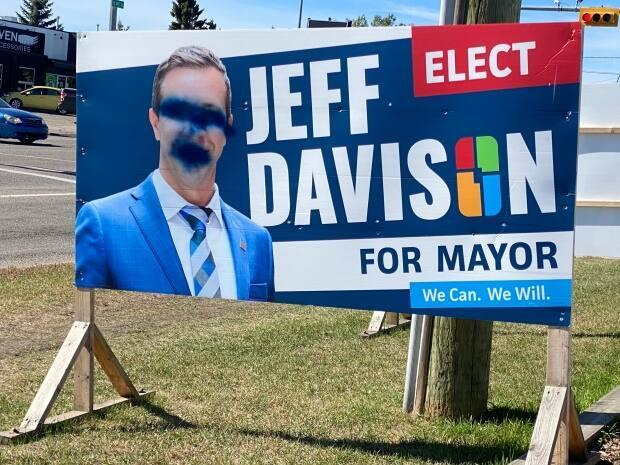 A Calgary city councillor says his office has been vandalized. (Scott Dippel/CBC - image credit)