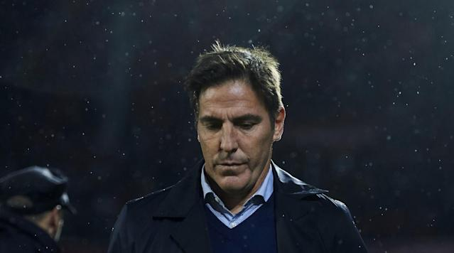"<p>Eduardo Berizzo, who was recently diagnosed with prostate cancer, has been fired as manager of Sevilla, <a href=""http://www.sevillafc.es/actualidad/noticias/el-sevilla-fc-destituye-eduardo-berizzo"" rel=""nofollow noopener"" target=""_blank"" data-ylk=""slk:the club announced Friday"" class=""link rapid-noclick-resp"">the club announced Friday</a>. </p><p>Sevilla said the dismissal was ""due to the team's poor run."" The team has won three of its last 10 La Liga matches and currently sits fifth in the league table. It was beaten 3–1 by Real Sociedad on Wednesday and 5–0 by Real Madrid on Dec. 9. The club says it is already close to hiring another coach. </p><p>Berizzo, 48, was hired in May after a successful run at Celta Vigo. He was diagnosed with prostate cancer in November and his players used the news as motivation to complete a comeback from down 3–0 against Liverpool in the Champions League. The club wound up advancing to the knockout stage, where it will face Manchester United.</p><p>""Sevilla FC wants to show their full support to the coach right now and wishes him a speedy recovery,"" the club said in a statement announcing the diagnosis. Exactly a month later, he was let go. </p>"