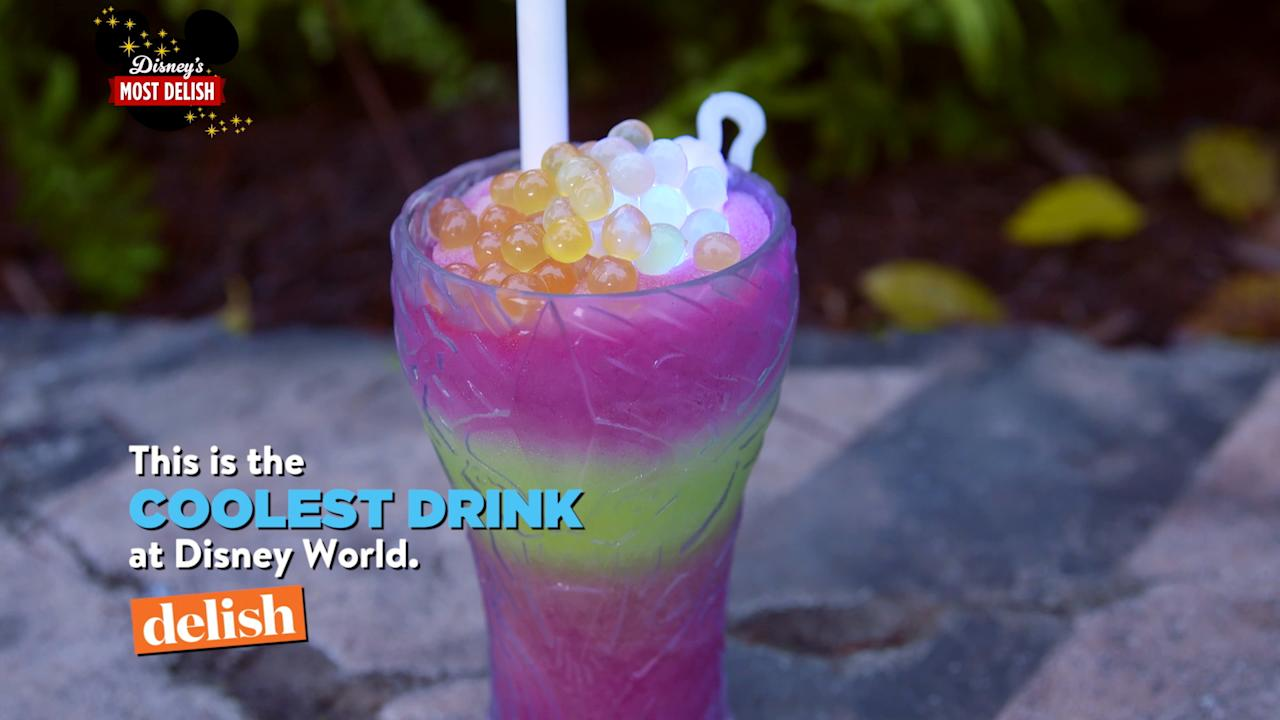 Disney's new Avatar-themed park features one incredible glowing drink.