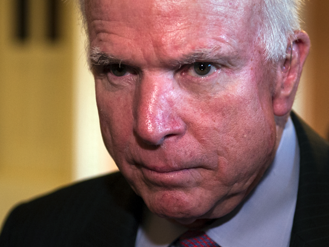 John McCain: Trump Must Be Prepared to Act