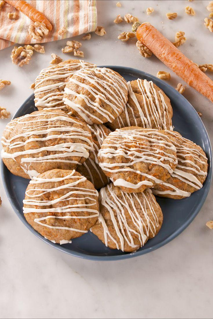 """<p>We know you love <a href=""""https://www.delish.com/uk/cooking/recipes/a32205309/best-carrot-cake-recipe/"""" rel=""""nofollow noopener"""" target=""""_blank"""" data-ylk=""""slk:Carrot Cake"""" class=""""link rapid-noclick-resp"""">Carrot Cake</a> and you really love <a href=""""https://www.delish.com/uk/cooking/recipes/a32092148/carrot-cake-cheesecake-recipe/"""" rel=""""nofollow noopener"""" target=""""_blank"""" data-ylk=""""slk:Carrot Cake Cheesecake"""" class=""""link rapid-noclick-resp"""">Carrot Cake Cheesecake</a>. We now introduce to you cheesecake-STUFFED carrot cake cookies. The best combo that ever lived. </p><p>Get the <a href=""""https://www.delish.com/uk/cooking/recipes/a33519039/cheesecake-stuffed-carrot-cake-cookies-recipe/"""" rel=""""nofollow noopener"""" target=""""_blank"""" data-ylk=""""slk:Cheesecake Stuffed Carrot Cake Cookies"""" class=""""link rapid-noclick-resp"""">Cheesecake Stuffed Carrot Cake Cookies</a> recipe.</p>"""