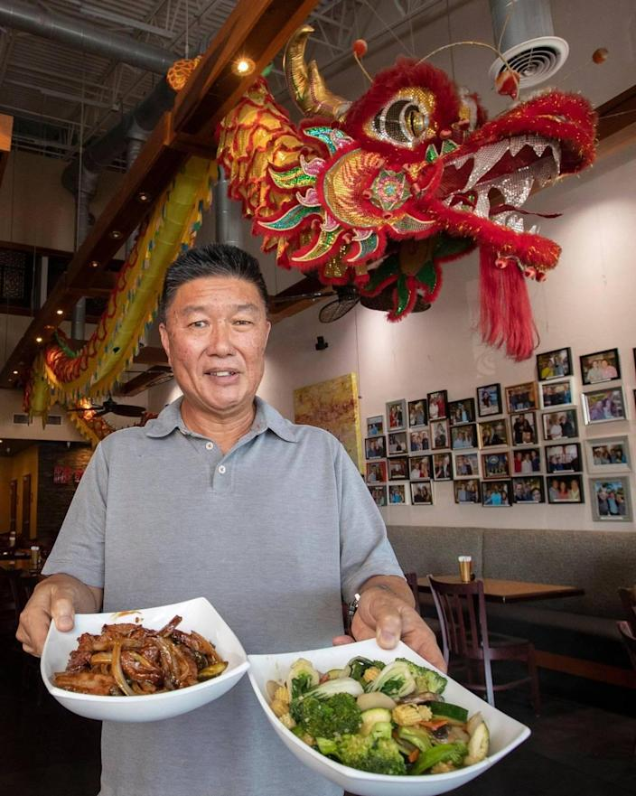 The Venezuelan Chinese restaurant named Qianlong Asian Bistro in Doral was founded several years ago in Venezuela, where it was called El Palmar. Today, Yony Moy runs the fourth generation family restaurant in Doral on Tuesday, May 11, 2021.