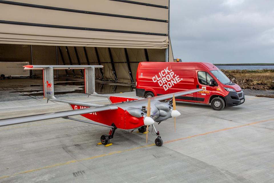 This is the third drone trial that Royal Mail has taken part in over the last year (Colin Keldie/PA)