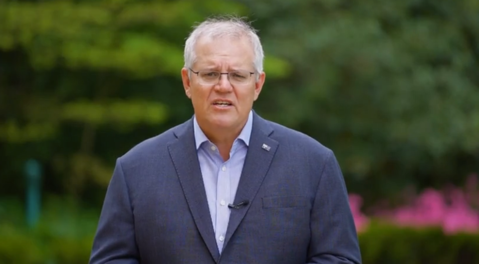 Prime Minister Scott Morrison has said international travel could be on the cards for NSW residents sooner than expected. Source: Scott Morrison/ Facebook