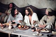 "<p>Aramaic-speaking actors re-create the story of Jesus's life from the fourth gospel as told by apostle John.</p> <p><a href=""http://www.netflix.com/title/81035748"" class=""link rapid-noclick-resp"" rel=""nofollow noopener"" target=""_blank"" data-ylk=""slk:Watch The Gospel of John on Netflix now."">Watch <strong>The Gospel of John</strong> on Netflix now.</a></p>"