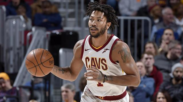 "<p>The Jazz released Derrick Rose after he was traded from the Cavs, the team <a href=""https://twitter.com/UtahJazzPR/status/962397245764087810"" rel=""nofollow noopener"" target=""_blank"" data-ylk=""slk:announced"" class=""link rapid-noclick-resp"">announced</a> Saturday.</p><p>Rose was sent to Utah in a large three-team deal that occurred Thursday: Utah sent <a href=""https://www.si.com/nba/2018/02/08/cavaliers-trade-rodney-hood-george-hill-deadline"" rel=""nofollow noopener"" target=""_blank"" data-ylk=""slk:Rodney Hood"" class=""link rapid-noclick-resp"">Rodney Hood</a> to Cleveland. The Jazz also sent Joe Johnson to Sacramento, with the Cavs sending Jae Crowder and Rose to Utah. Sacramento sent George Hill to Cleveland. </p><p>The Cavs made the Thursday 3 p.m. ET trade deadline their show, orchestrating several blockbuster deals. </p><p>Isaiah Thomas was sent to the Lakers along with Channing Frye from the Cavs in exchange for Jordan Clarkson and Larry Nance Jr. </p><p>Dwyane Wade <a href=""https://www.si.com/nba/2018/02/08/cavaliers-trade-dwyane-wade-miami"" rel=""nofollow noopener"" target=""_blank"" data-ylk=""slk:headed back to Miami"" class=""link rapid-noclick-resp"">headed back to Miami</a> in exchange for a heavily protected second-round pick.</p><p>Rose was in Chicago form 2008 to 2016. He played the 2016-2017 season with the Knicks before heading to Cleveland. He played just 16 games for the Cavs this season. He is averaging 9.8 points, 1.6 assists and 1.8 rebounds per game. He was <a href=""https://www.si.com/nba/2017/11/24/derrick-rose-evaluating-future-basketball-away-cavaliers"" rel=""nofollow noopener"" target=""_blank"" data-ylk=""slk:mulling retirement"" class=""link rapid-noclick-resp"">mulling retirement</a> earlier this season after suffering yet another injury. He's dealt with various injuries including a torn ACL. </p>"