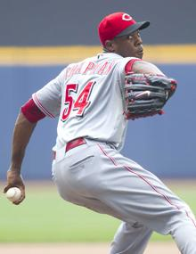 Ailing Reds wonder how to use Aroldis Chapman