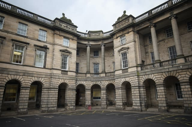 The Court of Session in Edinburgh (PA)