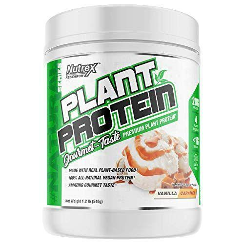 """<p><strong>Nutrex Research</strong></p><p>amazon.com</p><p><strong>$34.99</strong></p><p><a href=""""https://www.amazon.com/dp/B07RT1V73C?tag=syn-yahoo-20&ascsubtag=%5Bartid%7C10055.g.35084321%5Bsrc%7Cyahoo-us"""" rel=""""nofollow noopener"""" target=""""_blank"""" data-ylk=""""slk:Shop Now"""" class=""""link rapid-noclick-resp"""">Shop Now</a></p><p>Just because you're choosing a vegan protein powder doesn't mean you should have to be confined to only vanilla and chocolate flavors. <strong>Nutrex Research offers their 100% vegan protein powder in a variety of fun flavors like <a href=""""https://go.skimresources.com?id=74968X1525078&xs=1&url=https%3A%2F%2Fwww.vitaminshoppe.com%2Fp%2Fplant-protein-strawberries-cream-1-3-lb-powder%2Fyj-1037"""" rel=""""nofollow noopener"""" target=""""_blank"""" data-ylk=""""slk:strawberries and cream"""" class=""""link rapid-noclick-resp"""">strawberries and cream</a>, <a href=""""https://go.skimresources.com?id=74968X1525078&xs=1&url=https%3A%2F%2Fwww.vitaminshoppe.com%2Fp%2Fplant-protein-cinnamon-cookies-1-2-lb-powder%2Fyj-1036"""" rel=""""nofollow noopener"""" target=""""_blank"""" data-ylk=""""slk:cinnamon cookies"""" class=""""link rapid-noclick-resp"""">cinnamon cookies</a>, <a href=""""https://go.skimresources.com?id=74968X1525078&xs=1&url=https%3A%2F%2Fwww.vitaminshoppe.com%2Fp%2Fplant-protein-german-chocolate-cake-1-25-lb-powder%2Fyj-1035"""" rel=""""nofollow noopener"""" target=""""_blank"""" data-ylk=""""slk:german chocolate cake"""" class=""""link rapid-noclick-resp"""">german chocolate cake</a>, and more. </strong>The brand's manufacturers do third-party testing and when we chatted with the <a href=""""https://www.nutrex.com/product/plant-protein/"""" rel=""""nofollow noopener"""" target=""""_blank"""" data-ylk=""""slk:online support team"""" class=""""link rapid-noclick-resp"""">online support team</a> they were very responsive and got us a heavy metal analysis of the powder right away.</p>"""