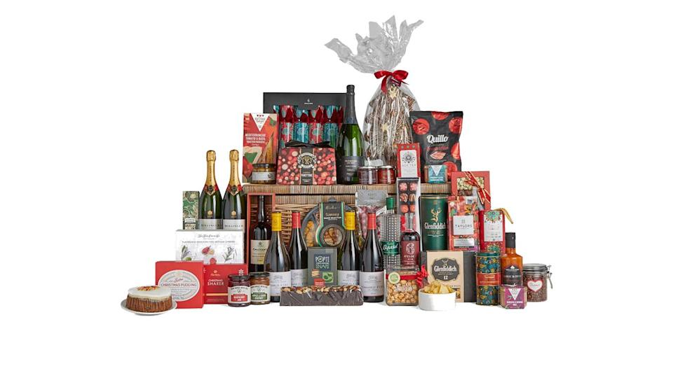 Christmas Treasure Chest Hamper. (John Lewis)