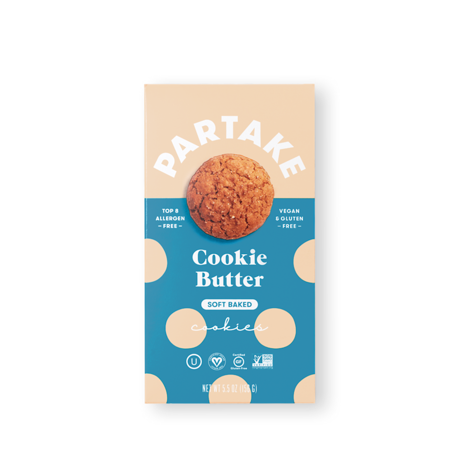 "<h2><a href=""https://partakefoods.com/"" rel=""nofollow noopener"" target=""_blank"" data-ylk=""slk:Partake Foods"" class=""link rapid-noclick-resp"">Partake Foods</a></h2><br>Indulge in this coveted black-owned brand that offers delicious cookies in every variety — you can even find vegan and gluten-free options here. Chocolate chips, cookie butter, and carrot cake flavors are abundantly available to ship right to your door. <br><br><strong>Partake</strong> Soft Baked Cookie Butter Cookies, $, available at <a href=""https://go.skimresources.com/?id=30283X879131&url=https%3A%2F%2Fpartakefoods.com%2Fproducts%2Fcookie-butter-soft-baked-cookies"" rel=""nofollow noopener"" target=""_blank"" data-ylk=""slk:Partake Foods"" class=""link rapid-noclick-resp"">Partake Foods</a>"
