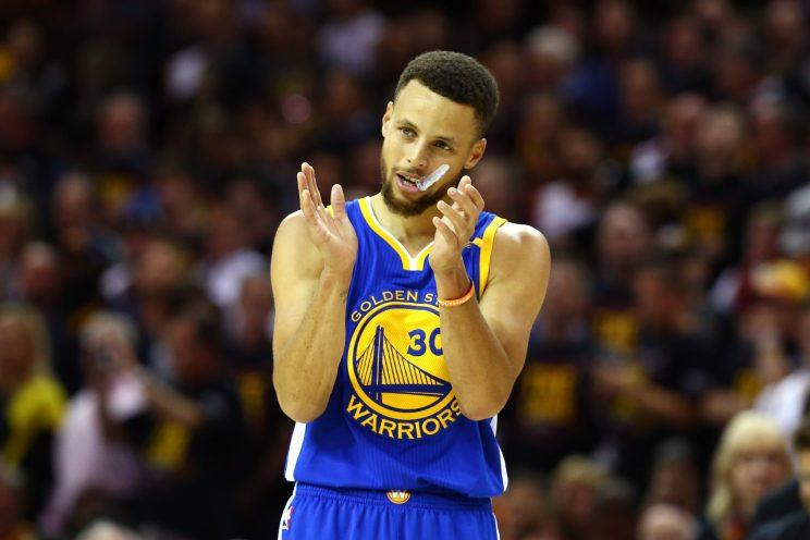 Stephen Curry s Game 3 NBA Finals jersey sells for record price at ... 99bd5e750