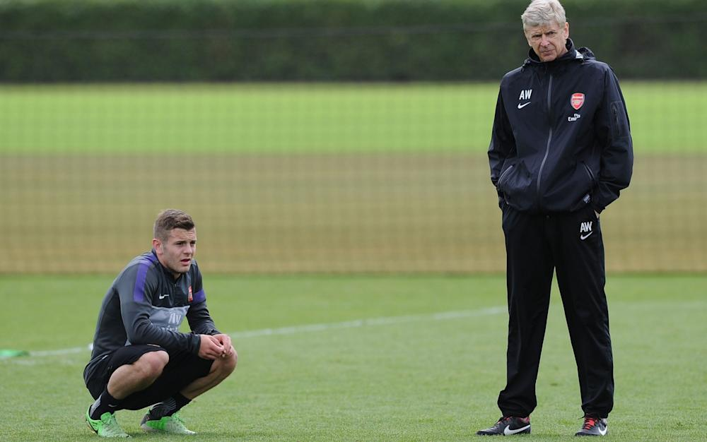 Jack Wilshere and Arsene Wenger - Credit: Getty Images