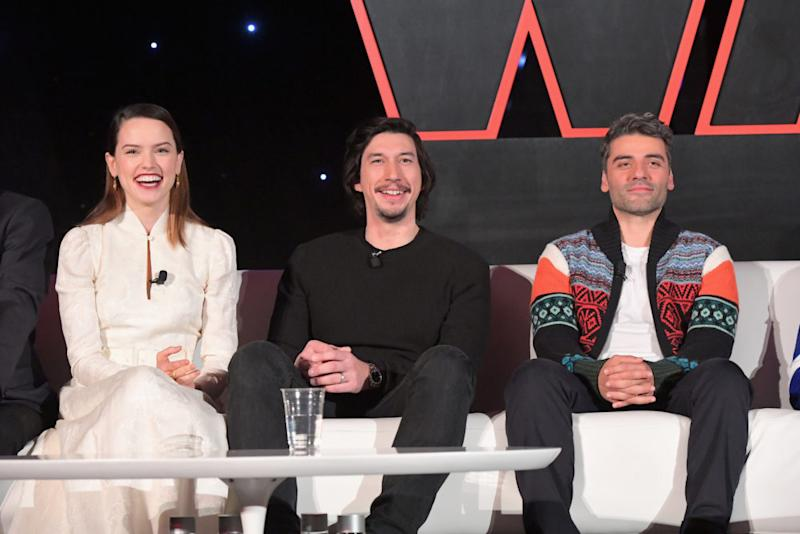 """Daisy Ridley says the """"Star Wars"""" cast doesn't hang out much, and we don't accept that"""