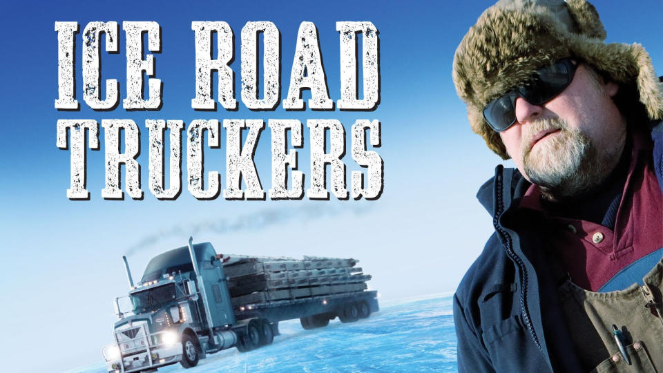 'Ice Road Truckers'. (Credit: History/Amazon)