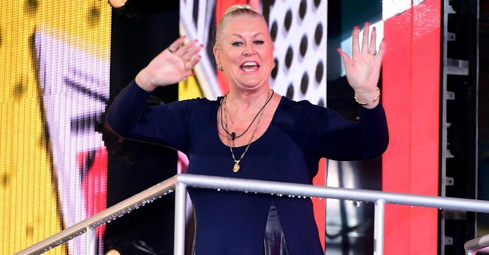 Kim Woodburn spent most of her time in the house arguing (PA)