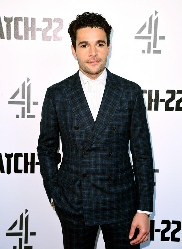 Christopher Abbott at the Catch 22 UK Premiere – London